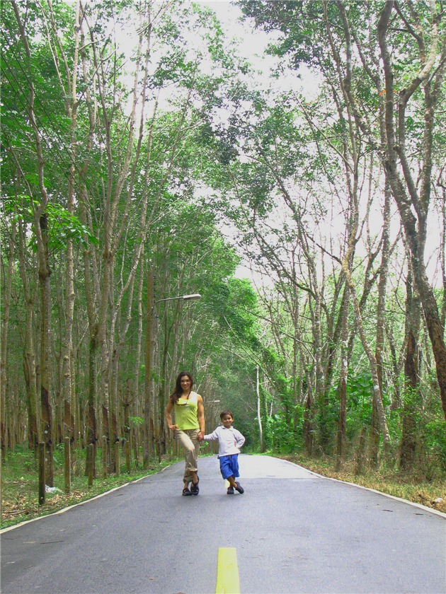 6_oct-_29_2007_mommie_and_ld_on_road_with_rubber_trees