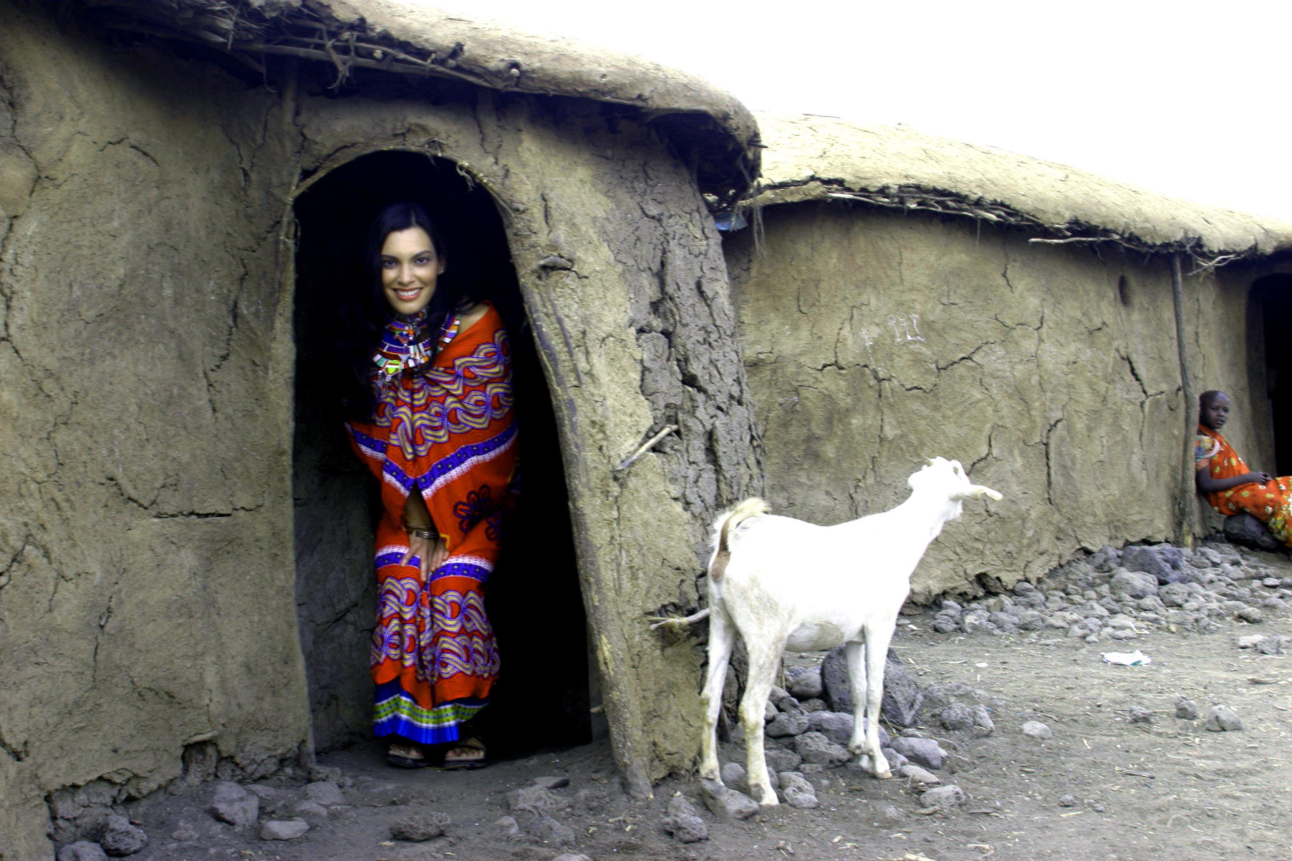 posing-in-hut-door-opening
